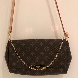 Louis Vuitton Favorite Mm Brown Monogram Bag